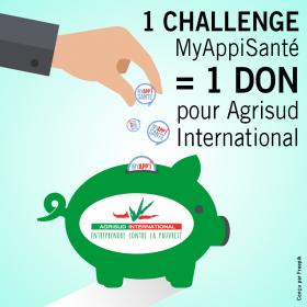 MyAppisanté + don AgriSud